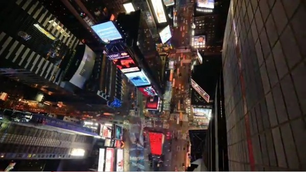 New-York en Time-Lapse vu par l'oeil de Mindrelic