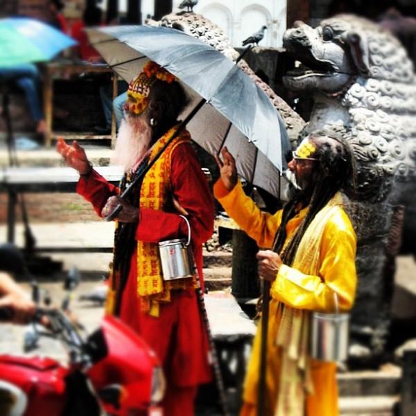 Des moines népalais