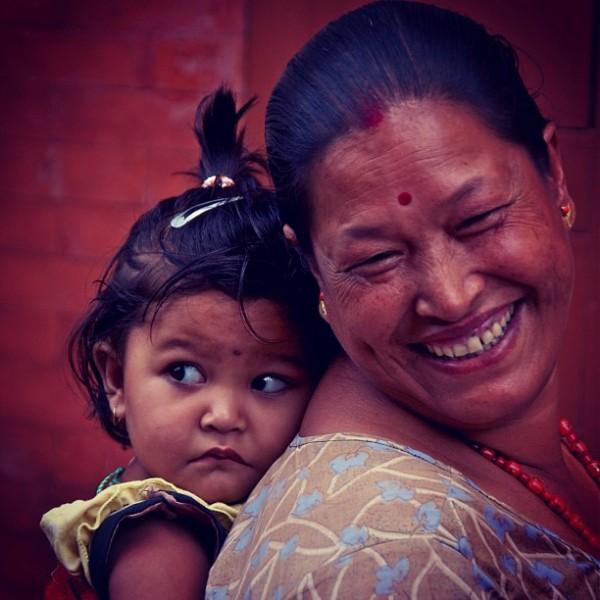 Visages Népalais