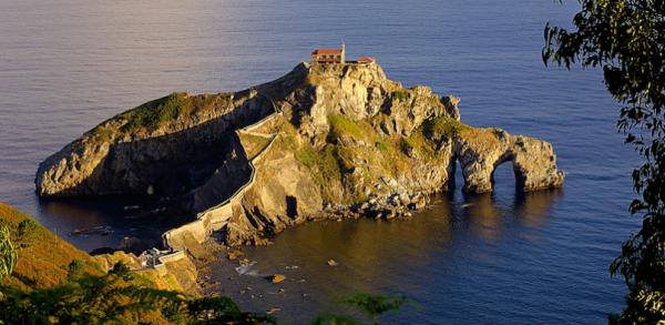San Juan de Gaztelugatxe, dans la région de Biscaye (pays basque espagnol)