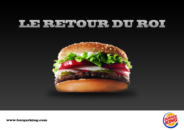 Burger King revient enfin en France!