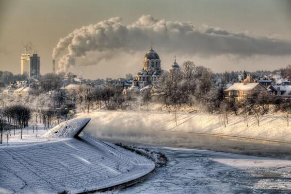 Vilnius en Lithuanie