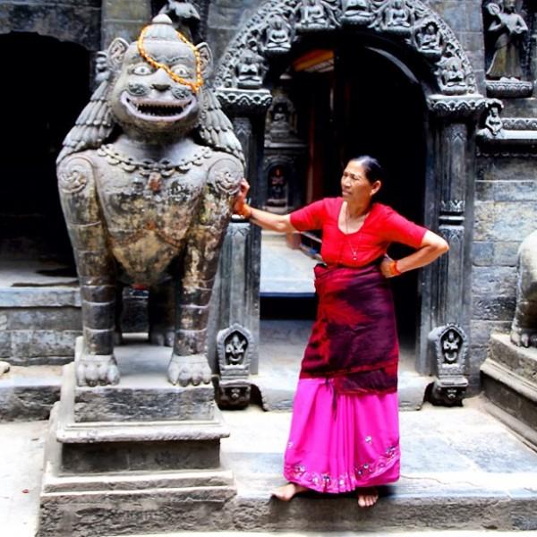 Temple de Katmandou, Népal