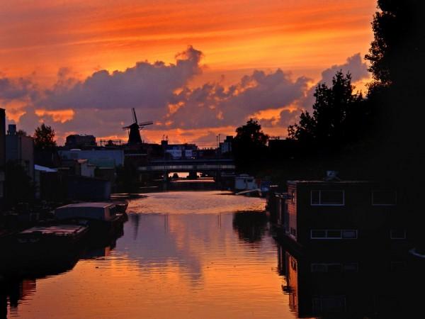Les moulins à vent d'Amsterdam