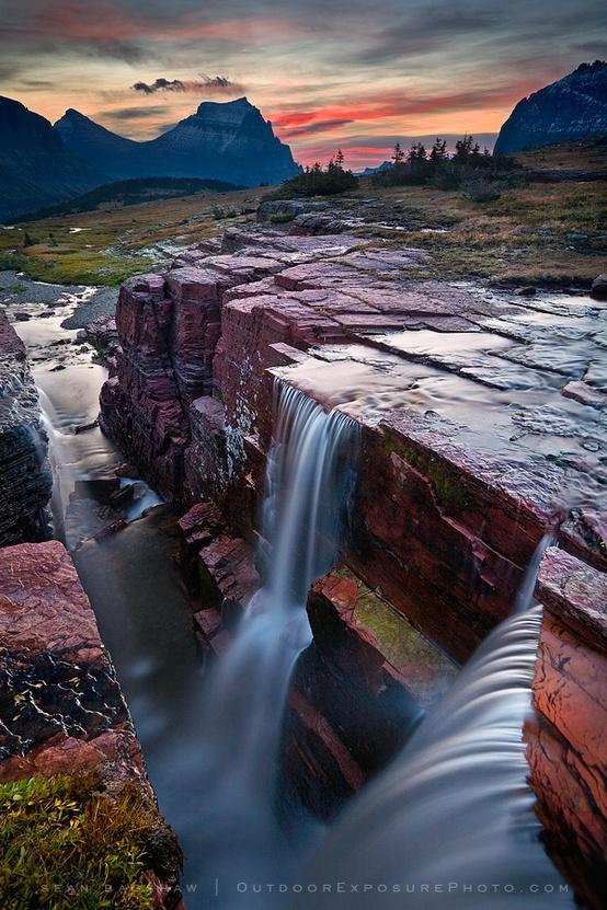 Les glaciers fondent dans le parc national du Montana