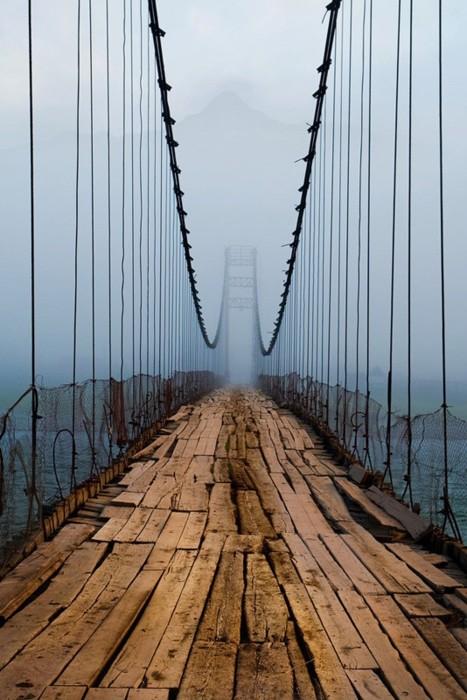 Le Plank Bridge, en Irlande du Nord