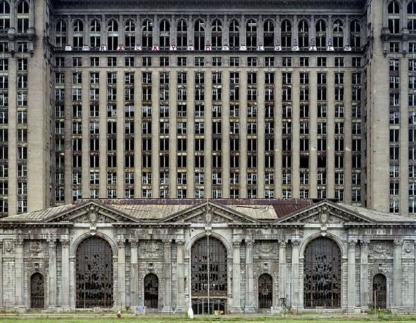 La gare centrale de Détroit, à l'abandon depuis la crise