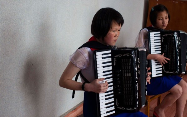 De jeunes accordéonistes