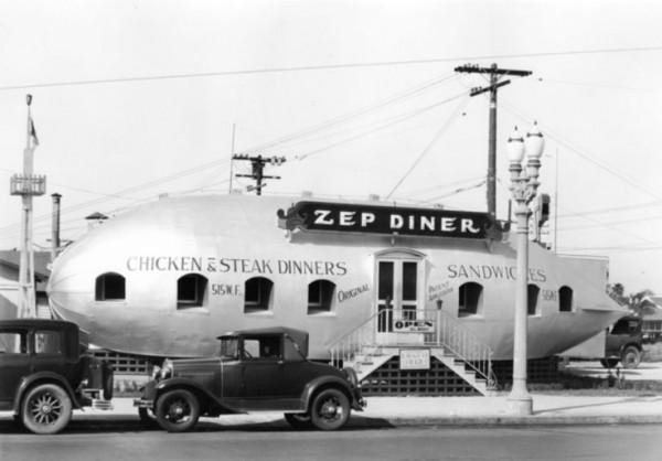 """Un """"Diner"""" americain dans les années 30"""