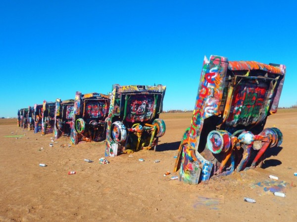 Le Cadillac Ranch, sur la Route 66