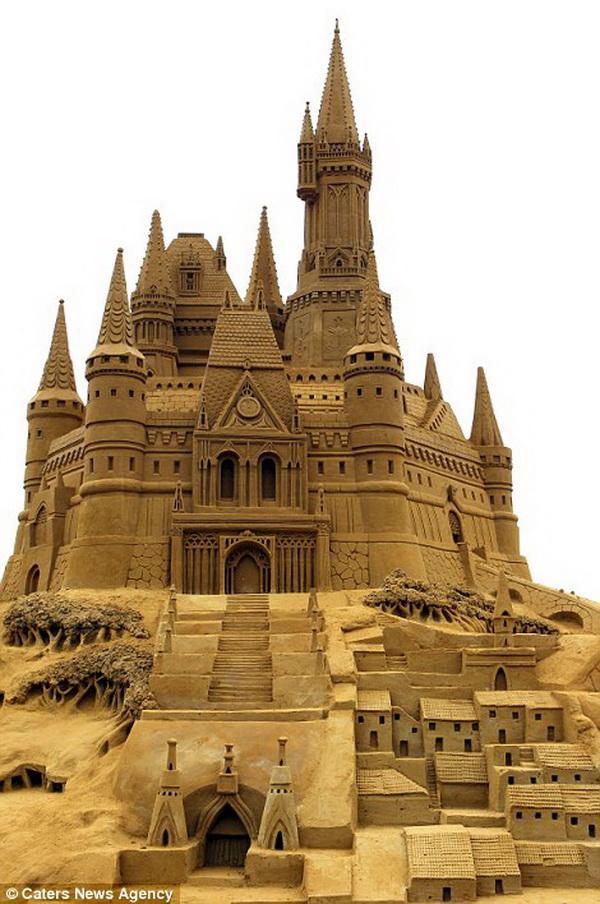 Enfin un château de sable qui porte bien son nom...