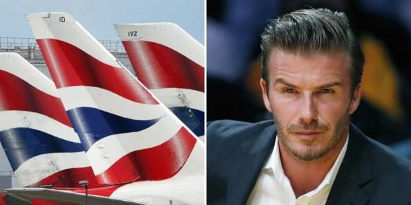 Ne pas déranger David Beckham quand il dort...
