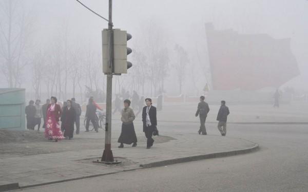 Brouillard sur PyongYang
