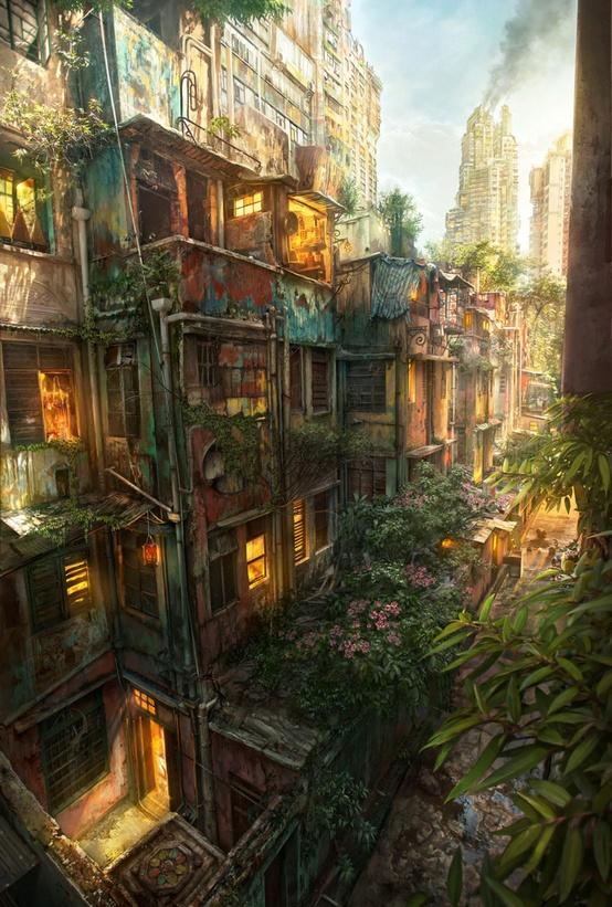 La ville du futur... (Avant ou après l'apocalypse?)