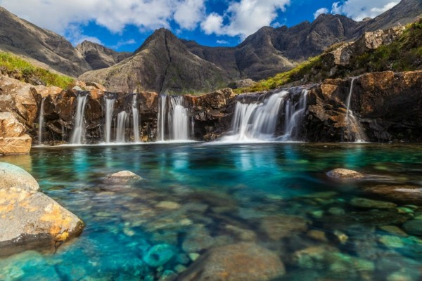 L'île de Skye, au Royaume-Uni