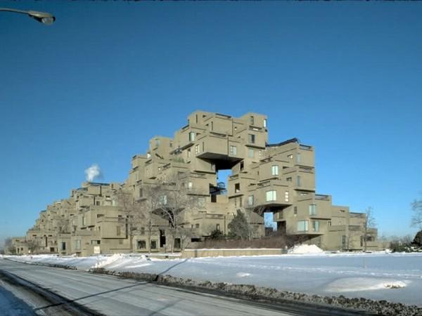 Architecture soviétique moderne