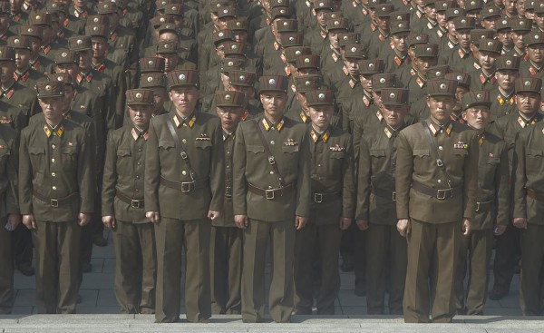 Troupes de soldats