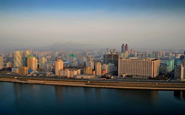 Pyongyang vu du fleuve