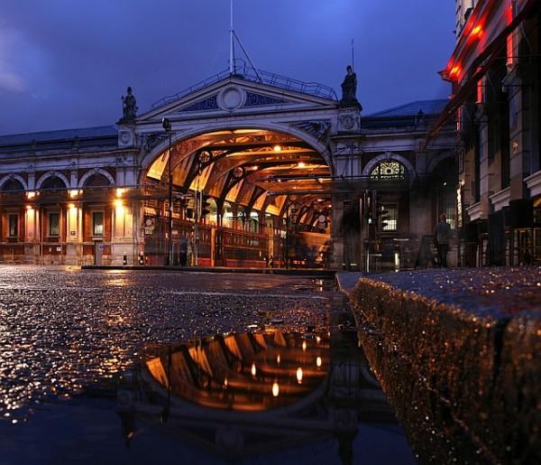 Le marché de Smithfield à Londres