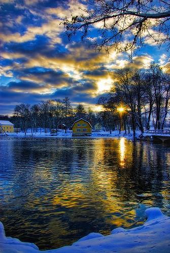 Le ciel de Laponie