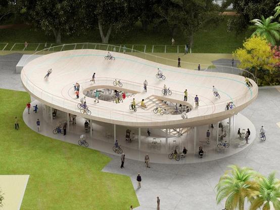 Le vélodrome de Hainan, oeuvre architecturale!