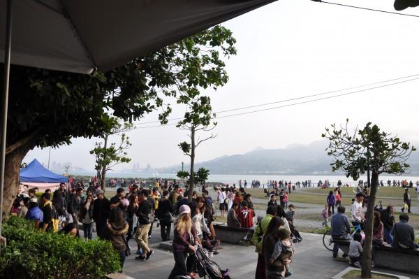Danshui, lieu de détente pour familles et jeunes de Taipei