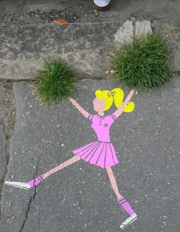 Oû le Street Art écolo...