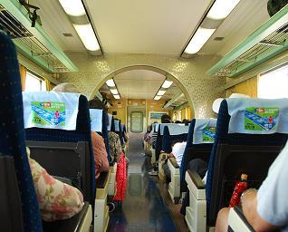 Ambiance OSS 117 dans le train...