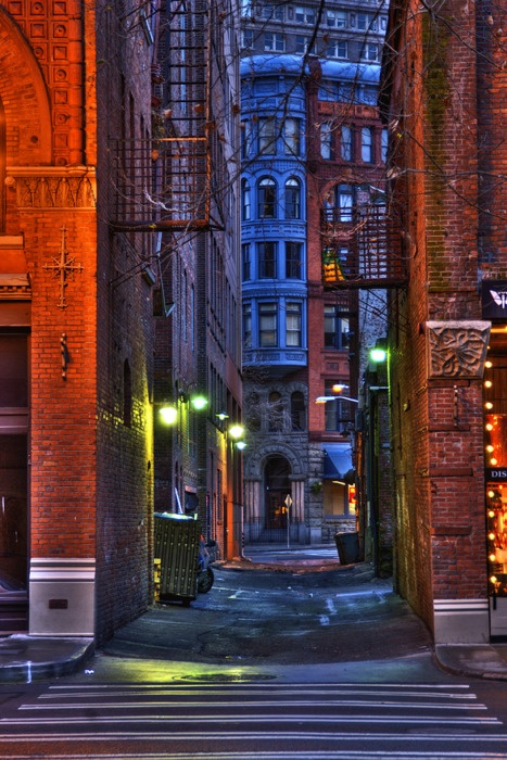 Ruelle de Seattle