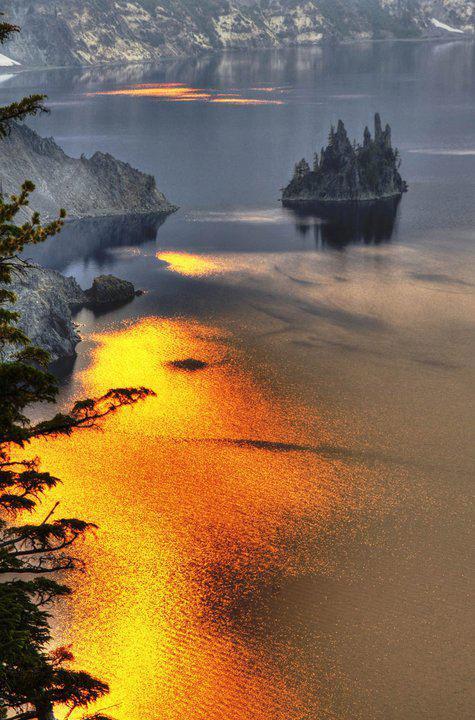 L'île du vaisseau fantôme, Oregon