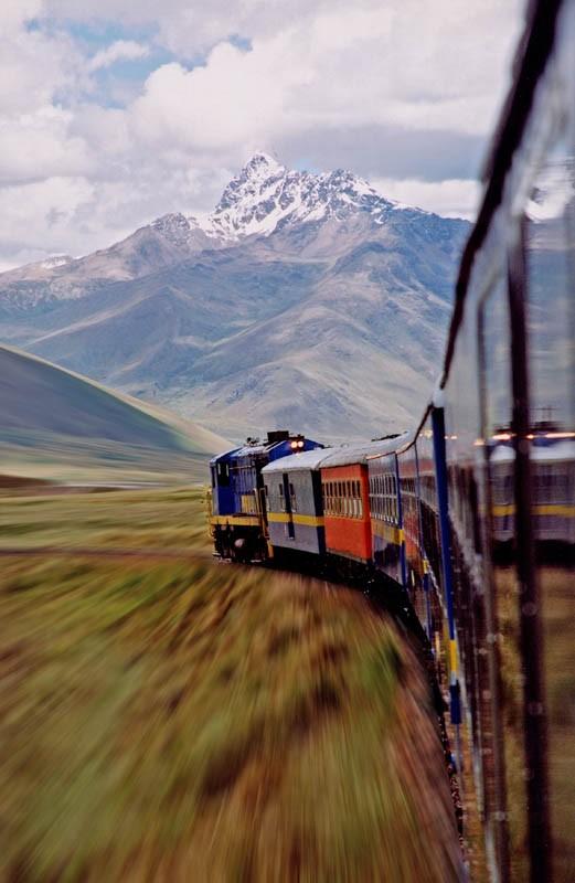 Le train, où le meilleur moyen de découvrir un pays de l'intérieur