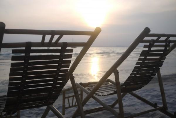 Couché de soleil sur Sihanoukville