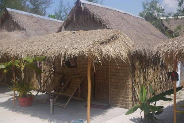 Notre bungalow... spartiate!