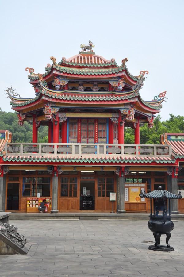 Le temple de Confucius à Taipei