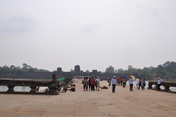 Angkor Wat, et ses centaines de touristes!
