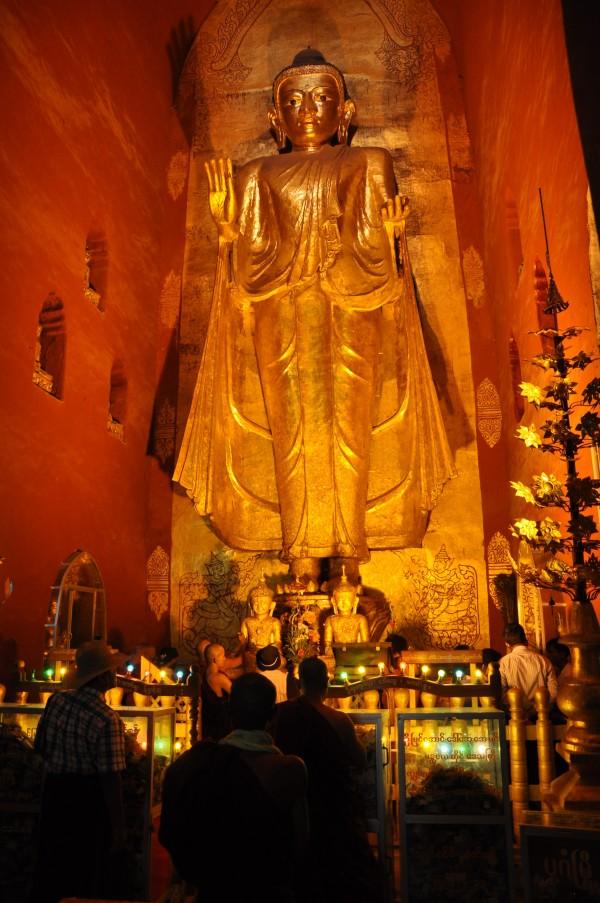 Plutôt balaise le bouddha!