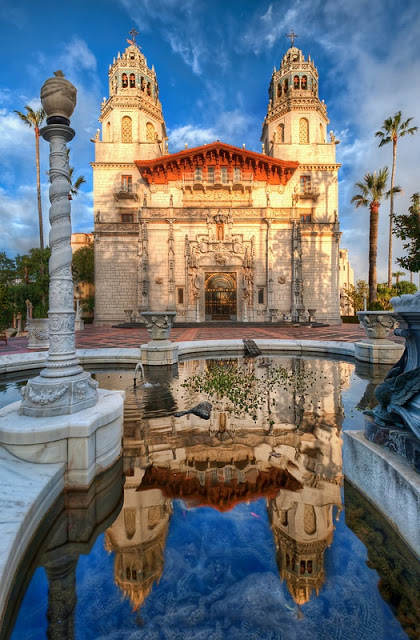 L'Hearst Castle en Californie