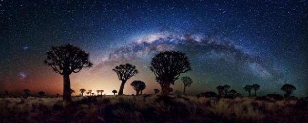 Ciel étoilé en Afrique