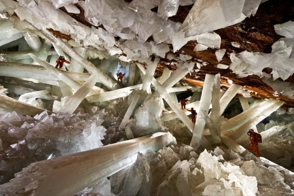 Grottes Naica au Mexique