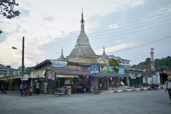 Le marché entourant la pagode de Kalaw
