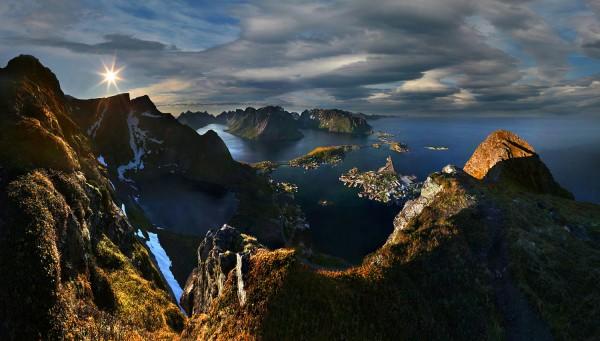 L'île Lofoten en Norvège