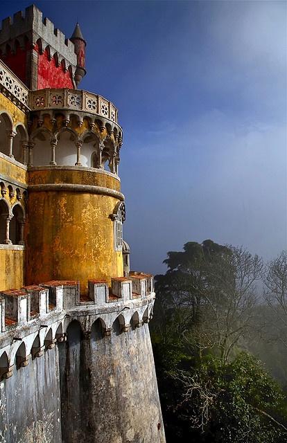 Le Pena Palace à Sintra au Portugal