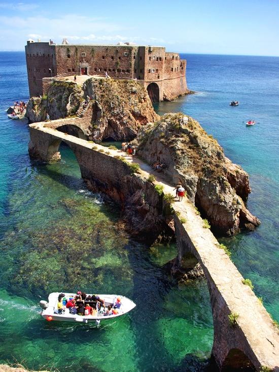 Le fort de Saint Jean Baptiste au Portugal