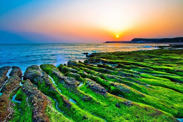 Shihmen à Taiwan, la réalité est légérement moins belle...