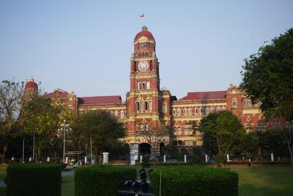 Les restes de l'architecture coloniale britannique, encore très visible dans la ville