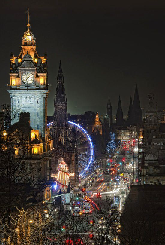 Edimbourg, night life!