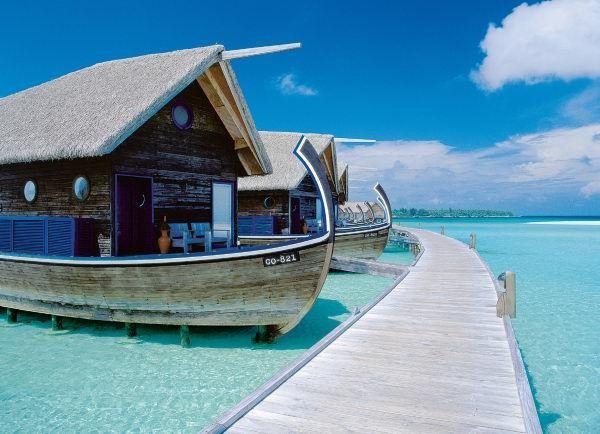 Le boat hotel aux Maldives, mais sans le mal de mer...