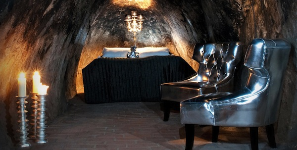 La chambre d'hôtel la plus profonde, situé à 50 mètres sous terre! A Bueno Aires