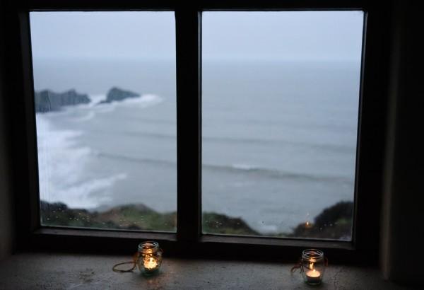 Vu par la fenêtre... en Cornouailles