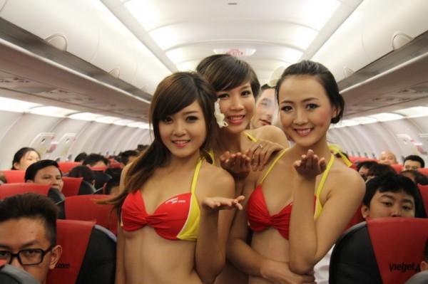 Top 10 des compagnies aériennes selon la beauté de leurs hôtesses
